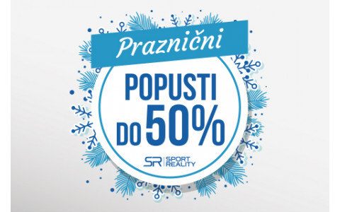 SLAVIMO PRAZNIKE UZ SPORT REALITY sezonske popuste DO -50%