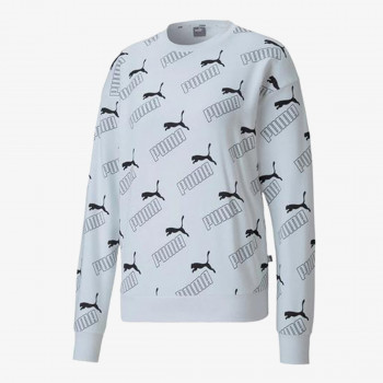 PUMA ODJECA DUKS PUMA AMPLIFIED AOP CREW SWEAT TR